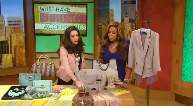 Bryce Gruber Spring Trends Wendy Williams