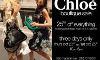25% Off at Chloe, Baby!