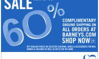 60% off Designer Brands at Barneys NY