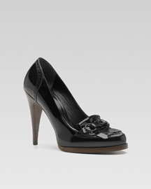 Gucci Heeled Moccasins from Saks.com, under $200!