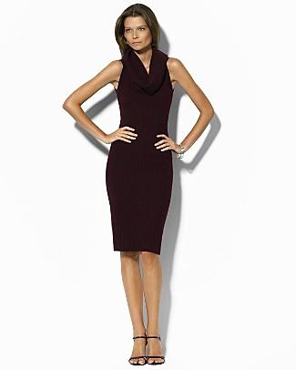 Ralph Lauren Cowlneck Dress, $48 at Bloomingdales.com's Secret Sale