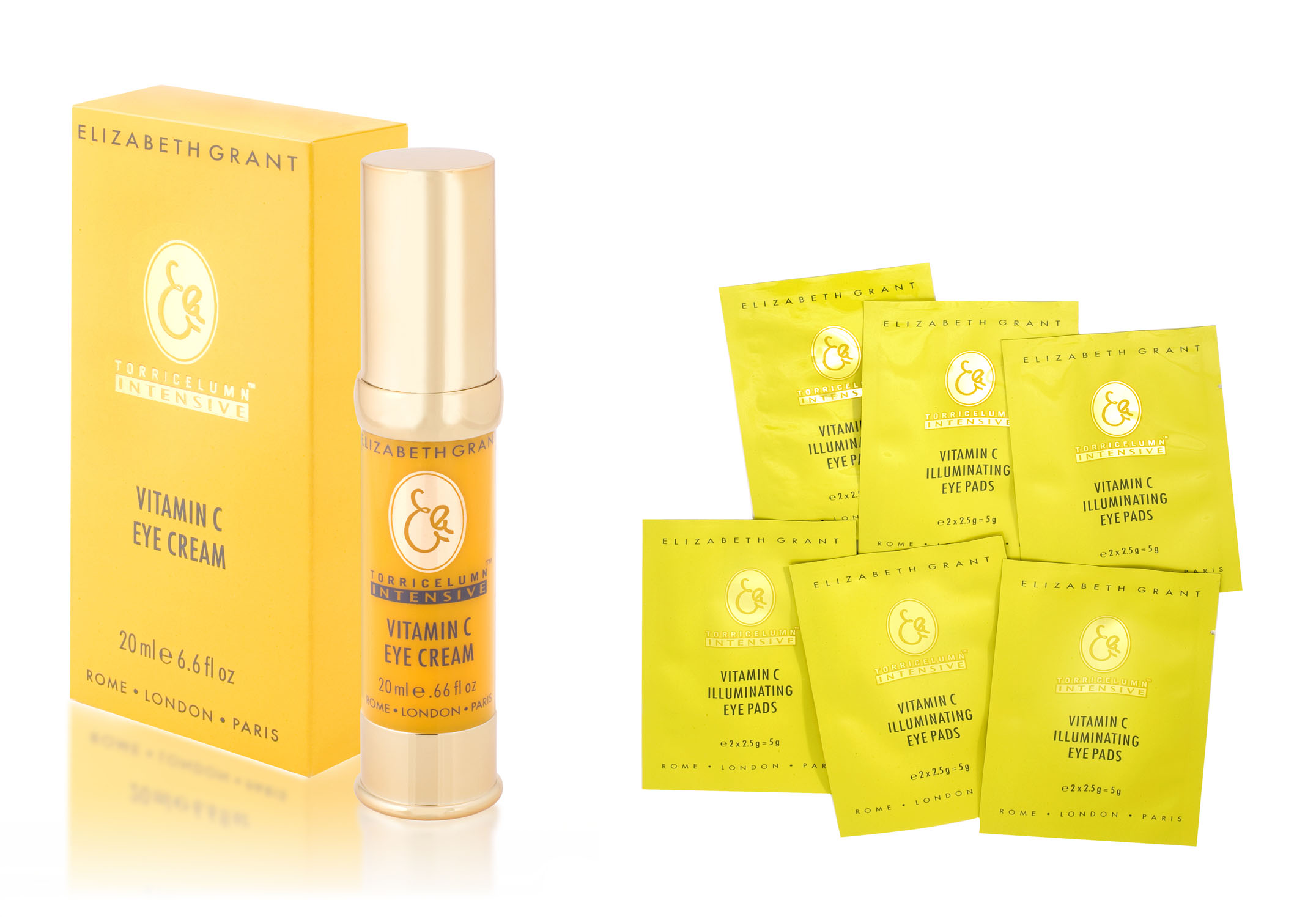 Elizabeth Grant Vitamin C Eye Cream & Vitamin C Eye Pads