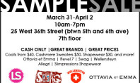 Sample Sale Extravaganza!!