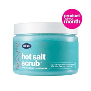 bliss hot salt scrub $36