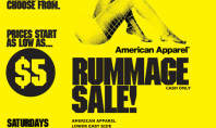American Apparel Street Sale!