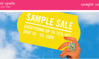 Sample Sale: Kate Spade