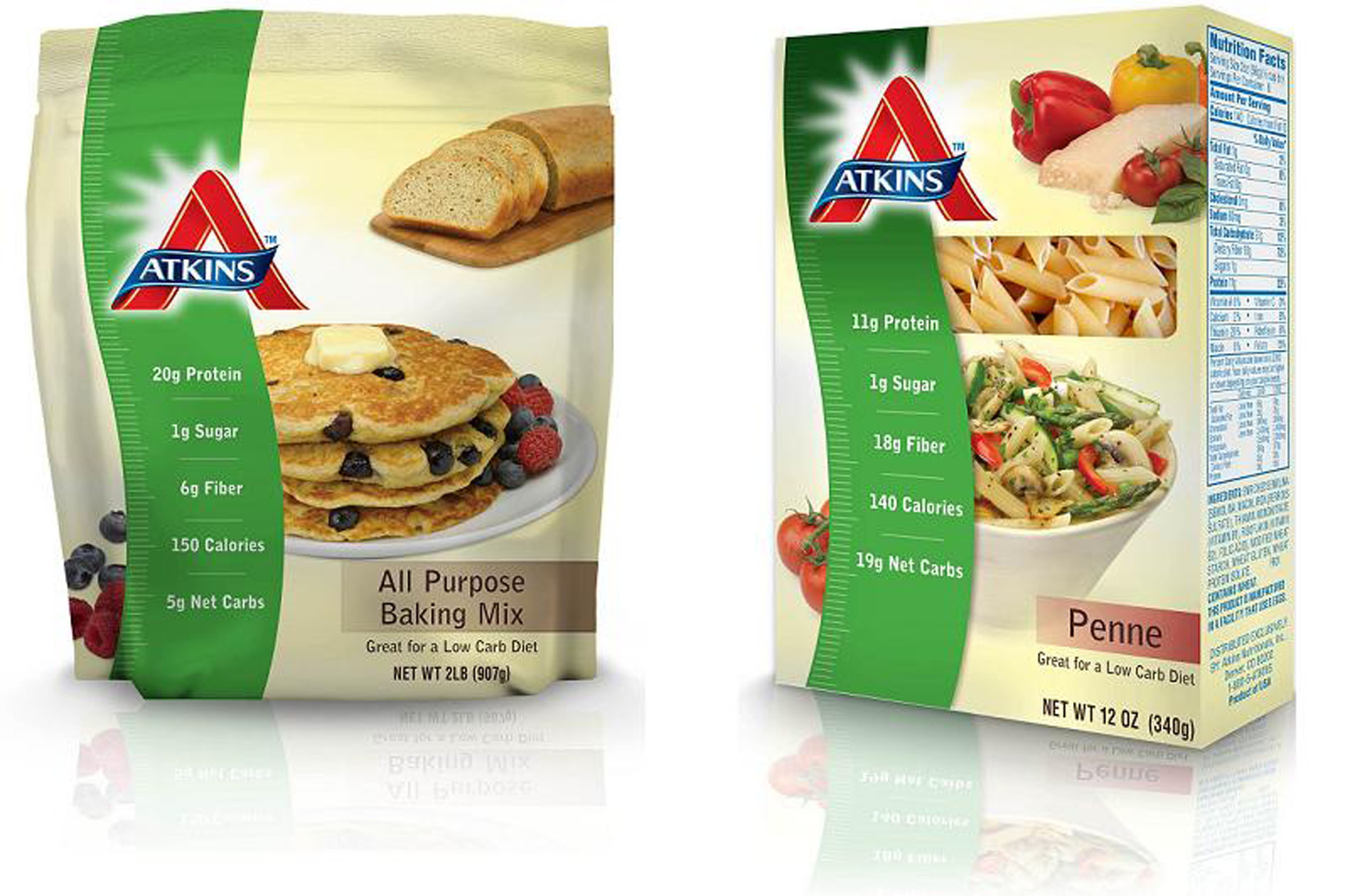 Atkins blog tour no time mommy for Atkins quick cuisine bake mix