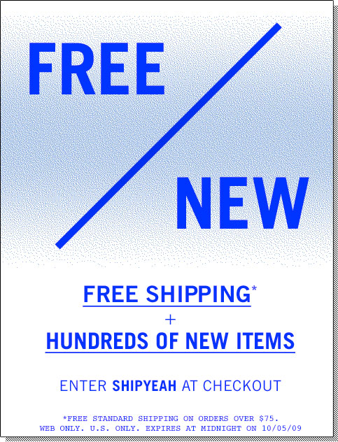 Urban Outfitters Free Shipping