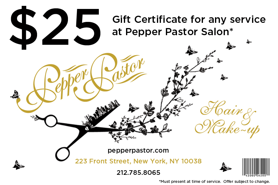 haircut gift certificate you win kickass hair the luxury spot 5638