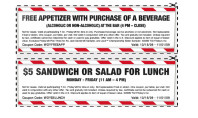 TGIFridays Printable Coupon- Eat Some Wings or Something