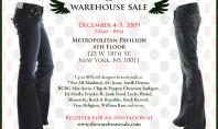 Designer Bargains at The Warehouse Sale!