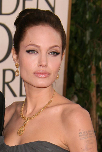 angelina jolie lips. My lips go from wee to Jolie