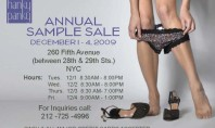 Hanky Panky Sample Sale!