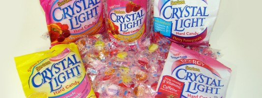 Crystal Light Introduces Hard Candy!