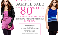WiNK Collection Sample Sale