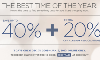Extra 20% off of your Winter Essentials at BananaRepublic.com