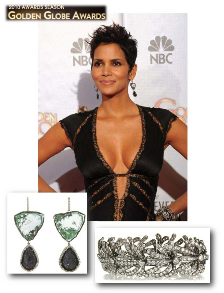 Halle Barry -- Golden Globes January 17th