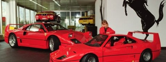luxury cars for kids ferrari the small edition