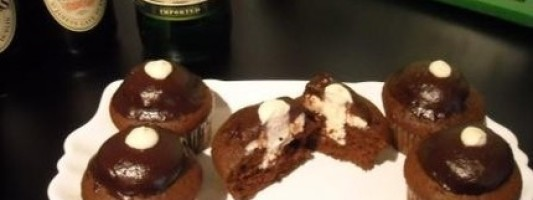 Irish Carbomb Cupcakes. Need I Say More?