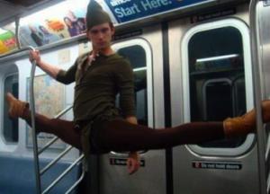 fairies on the subway