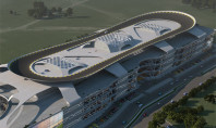 World's Biggest Automall Has Race Track Roof