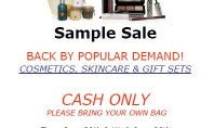 Borghese Sample Sale