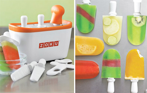 Innovative Adult Summer Treats zoku quick pop FOOD AND TRAVEL