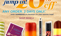 20% Off Benefit Cosmetics!