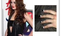 Leighton's Latest Nail Obsession: The Reverse Mani