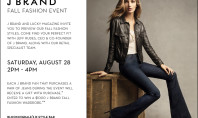 J Brand Fall Preview at Bloomingdales