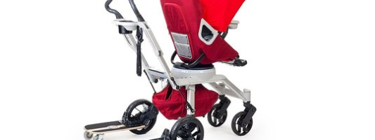 Introducing The Skateboard Stroller