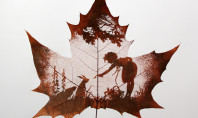 Awesome Leaf Carving Art