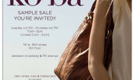 KOOBA Sample Sale