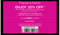 It's Here: 20% off! Saks Friends & Family Sale