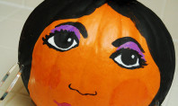 How To: Snooki Jack-O-Lantern