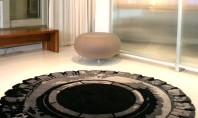 Tire Rugs Make A Chic Home Manlier