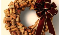 Winter Craft Idea: Drink Wine & Make A Wreath
