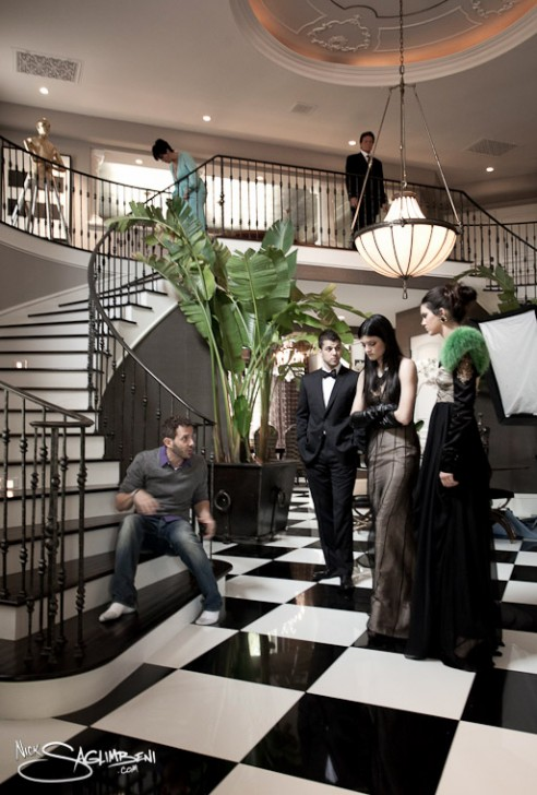 2010's GLAM Kardashian Holiday Card The Luxury Spot