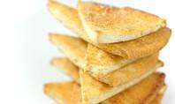Snack Alert: Baked Pita Chips