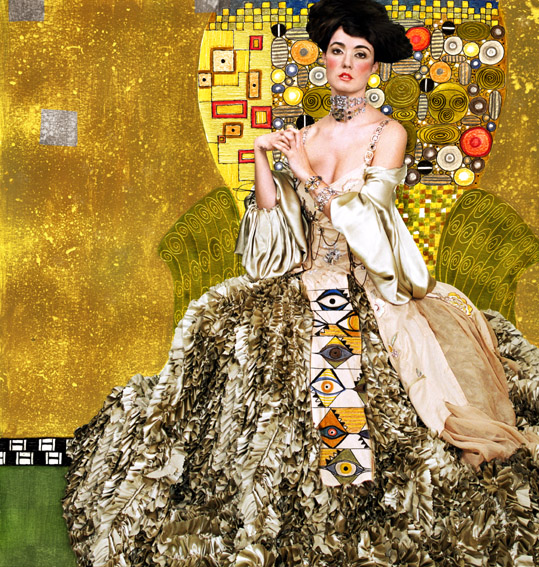 Klimt Inspired Fashion Shoot