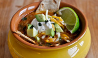 YUM ALERT: Easy One Pot Tortilla Soup