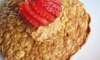 Yum Alert: Oatmeal Pancakes
