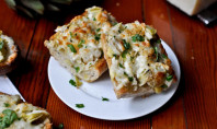 Yum Alert: Crunchy Artichoke French Bread