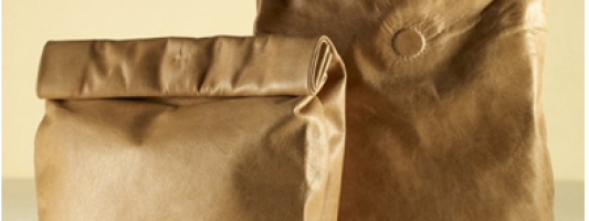 Haute Hobo: Luxe Brown Paper Bags
