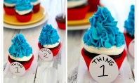 Yum Alert: Seuss Inspired Cupcakes
