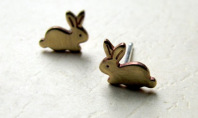 Accessory Crave: The Ultimate Cuteness Bunny Stud