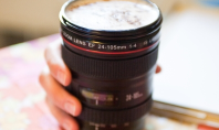 Commuter Coffee Crave: Photo Lens Mug