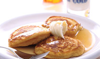 Yum Alert: Sweet-Potato Pancakes with Honey Cinnamon Butter