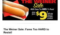 Spirit Airlines Embraces Weinergate w/ Sexy Fares
