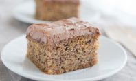 Yum Alert: Banana Cake with Nutella Frosting
